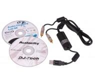 RCA2USB RCA/USB kabelis-konverteris 1.2m