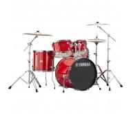 RDP0F5 akustinių būgnų komplektas Rydeen Hot Red