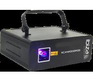 SCAN2000RGB lazeris animuojamas 2000mW RGB su ILDA ir DMX sąsaja
