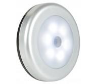 SENSOR-L šviestuvas su judesio davikliu 6x LED 50lm 7000K
