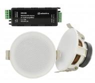 SL3-BT lubinių garsiakalbių ir stiprintuvo komplektas 2 x 15W, 3′′