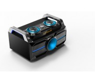 SPLBOX100 nešiojama audio sistema USB/SD/BT/FM/REC+SPK