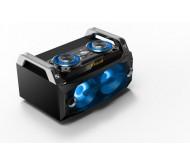 SPLBOX120 nešiojama audio sistema USB/SD/BT/FM/REC+SPK