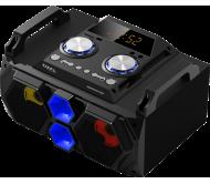 SPLBOX130 nešiojama garso sistema USB/SD/FM/BT/MIC IN/AUX/REC, 130W