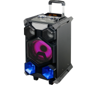 "SPLBOX350-PORT įkraunama garso sistema USB/SD/Bluetooth/FM/Line/AUX 175Wrms 8"""