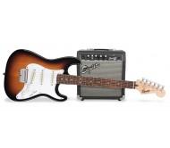 SQ10G STRAT PACK SS BSB elektrinės gitaros komplektas