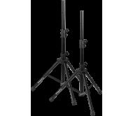 SS01B-MINI kolonėlių stovų komplektas su dėklu, iki 1,20m
