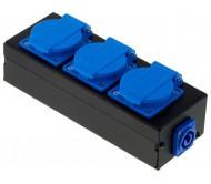 STAIRVILLE PCD-3 paskirtymo dėžutė 3 kanalų