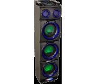 STANDUP308 garso sistema su LED garsiakalbių šviesos efektu, USB/SD/BLUETOOTH/FM, 3x 8′′