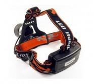 TS1147 žibintuvėlis, tvirtinamas ant galvos, LED 10W, su fokusavimu