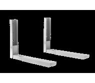 UCH0124-1 mikrobangų krosnelės laikyklis, reguliuojamas kojų ilgis 285-425mm. iki 30kg.