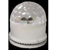 UFO-ASTRO-BT-WH šv.efektas su Bluetooth 2-in-1 3x 3W RGB LED
