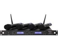 UHF40 4-kanalų UHF belaidžių mikrofonų sistema