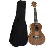 UK23 koncertinė ukulelė su dėklu SUNLP