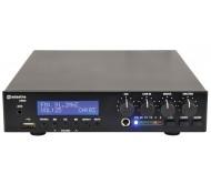 UM60 stiprintuvas su mikšeriu ir grotuvu, 100V 60W USB/AUX/FM/BT