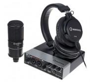 UR22MKII R PACK komplektas audio įrašams