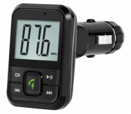 URZ0467 FM siųstuvas Bluetooth/USB/FM + laisvų rankų įranga