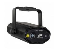 USB LASER itin kompaktiškas lazeris (30mW žalias + 80mW raudonas), maitinamas per USB-C