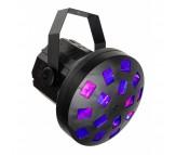USB MUSHROOM šviesos efektas 4x 2W (R+G+B+W) LED, maitinamas per USB-C