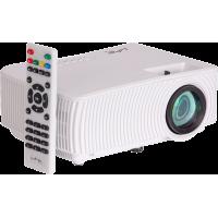 VP1000-W kompaktiškas LED vaizdo projektorius su WIFI MIRROR funkcija