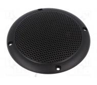 VS-FR10WP-4-BK lubinė garso kolonėlė, atspari vandeniui IP65, 20W 4omų D:132x56mm