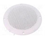 VS-FR10WP-4 lubinė garso kolonėlė, atspari vandeniui IP65, 20W 4omų D:132x56mm