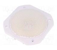 VS-FRS10WP-4-WH lubinė garso kolonėlė, atspari karščiui ir drėgmei IP65, 25Wrms 4omų 4′′