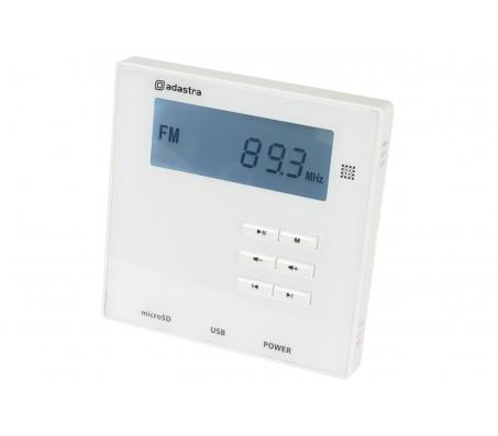 WA-210 sieninis stiprintuvas 2x 10W su USB/SD/FM, Bluetooth grotuvu
