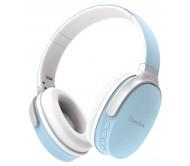 WBH-40BLU belaidės Bluetooth ausinės su SD/FM grotuvu ir laisvų rankų sistema