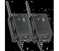 WD200SET belaidė DMX signalo perdavimo sistema 2.4GHz