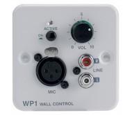 WP-1 sieninis valdiklis - įvesties modulis stiprintuvui ZONEAMP4120 ir PREZONE444