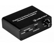 ZLA0857-3 skaitmeninio į analoginį audio signalo konverteris su lizdu ausinėms
