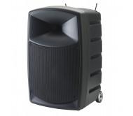 """CR25A-COMBO garso sistema su akumuliatoriumi 250W 12"""" su Bluetooth®/USB ir 2x UHF belaidžiais mikrofonais"""