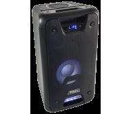 FREESOUND300 nešiojama garso sistema su akumuliatoriumi USB-SD / BLUETOOTH / LINE / AUX-IN
