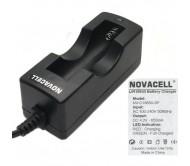 NVC18650 įkroviklis ličio akumuliatoriui 1x 18650
