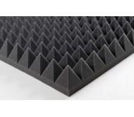 """Porolonas """"Piramidės"""" garso izoliacijai 1950 x 1000 x 70mm"""