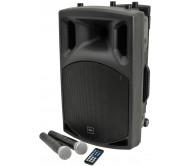 QX12PA nešiojama garso sistema su įkraunamu akumuliatoriumi ir Bluetooth/FM/USB/SD grotuvu, 12''