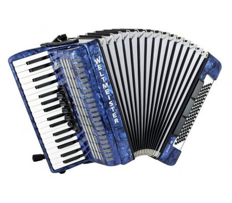 Weltmeister Achat akordeonas 34/80/III/5/3 mėlynas
